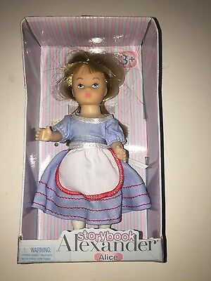 2012 Madame Alexander Alice 5 inch Storybook Doll