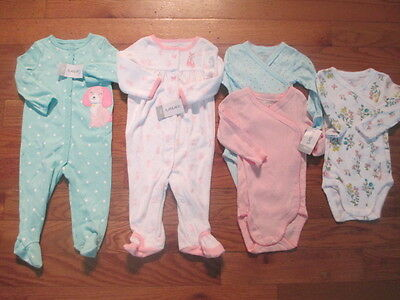 5 piece LOT of baby girl fall/winter clothes size 9 months NWT