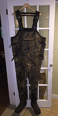 LaCrosse Size 8 Camo Neoprene Chest Waders HUNTING WATERFOWL