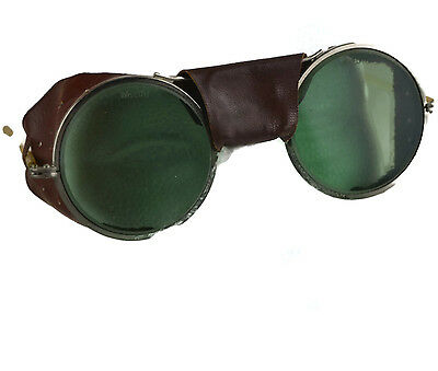 Vintage Steampunk Goggles Motorcycle  Avaitor Sunglasses Saftey Glasse USA
