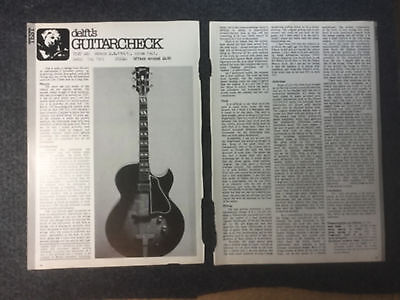 Gibson E.S.150 guitar circa 1947 magazine article feature from 1977 ES150 ES 150