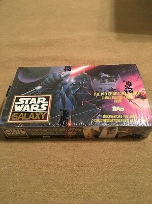 Star Wars Galaxy 140 Card Collection Trading Cards Topps 1993 Sealed Box 36 Pack
