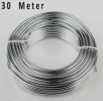 30 Meter Art And Crafting Craft Wire Metal Line Wire 0.5mm Soft Flexible - W299