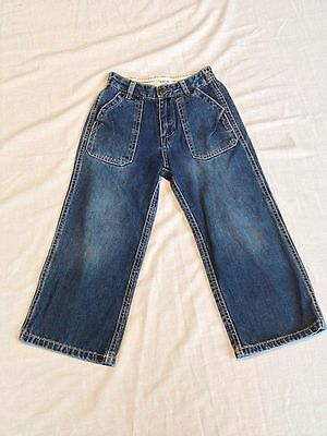 "*-O201  Preowned OSHKOSH CHILDREN's Size 5T Toddler Waist 21"" Jeans"