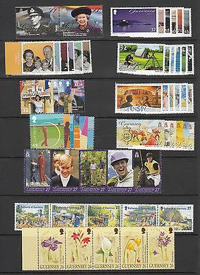 Guernsey Stamps & Miniature sheets 2002-2008 multi listing your choice