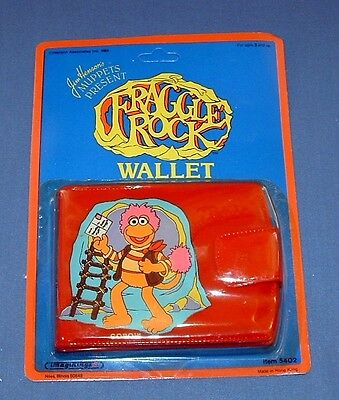 Muppets: Red Fraggle Rock Gobo Wallet - 1984 - Imaginings - New Old Stock