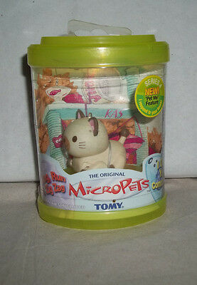 TOMY The Original Micropets - Tear on the plastic covering