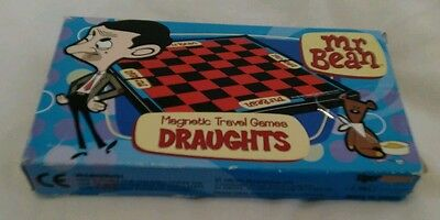 Mr Bean - Magnetic Travel Draughts