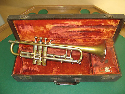 Play Ready: A. K. Huttl Super Deluxe Trumpet West Germany - Nice!!!