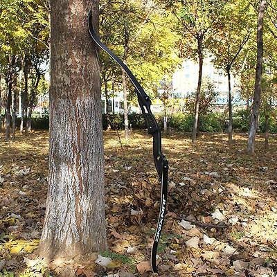"2017 Archery Takedown Recurve Bow 56"" Right Hand 50# Black US Hunting Practice"