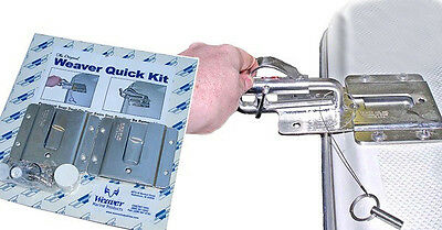 Boat Davits Quick Kit by Weaver Marine, to remove davit heads,for inflatables .