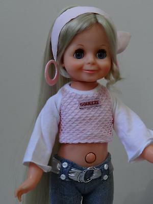 Brand New OOAK OutFit for Chrissy Crissy VELVET Dolls -  Strawberry Squeeze