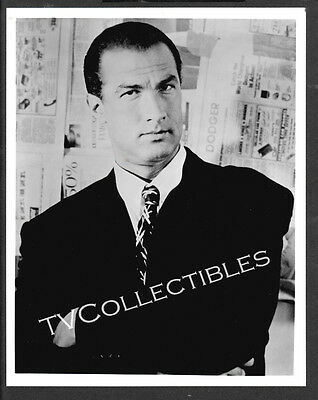 8x10 Photo~ Actor STEVEN SEAGAL ~Headshot Close-up in suit