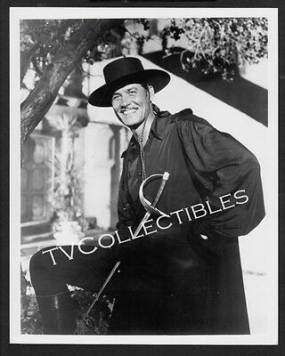 8x10 Photo~ Actor GUY WILLIAMS ~as Zorro Unmasked!