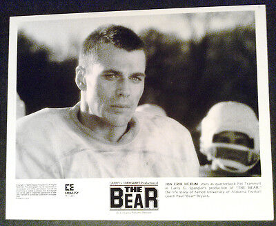 8x10 Photo~ THE BEAR ~1984 ~Jon Erik Hexum of Voyagers ~Football