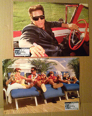 Lobby Card Lot~ FORD FAIRLANE ~1990 ~Andrew Dice Clay ~Brandon Call ~barefoot