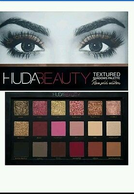 HUDA BEAUTY Eyeshadow Palette Cosmetics Eye Shadow 2016New 18 Color