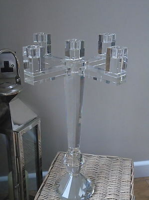 Glass / Crystal Candelabra-Sia Home Fashion/table decoration-retail over £200...