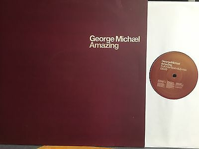 "George Michael 12"" Promo 'amazing'  (Sony)  - Full Intention"