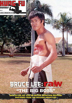 Bruce Lee: raw series -Vol.1-The Big Boss-Kung Fu Monthly Poster Magazine