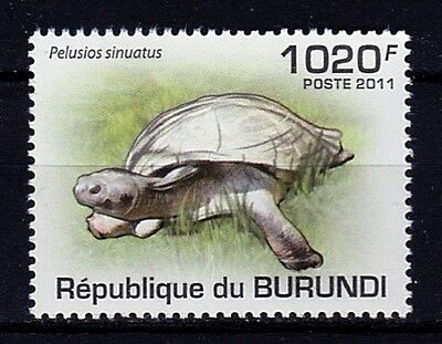 Timbre Neuf ** MNH - Burundi 2011 - Tortues Turtles