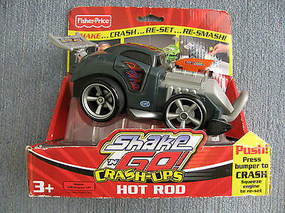 2007 Fisher Price Shake n Go HOT ROD MINT in The Box Neat Toy Great Gift