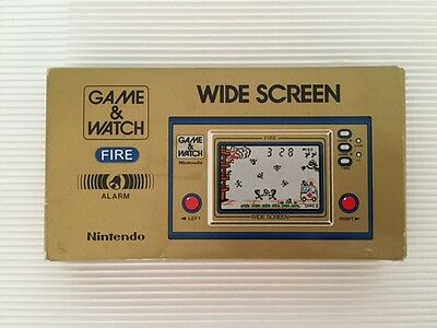 Nintendo Game & Watch Green Fire, VGC in box, extremly RARE (!) (!) (!)