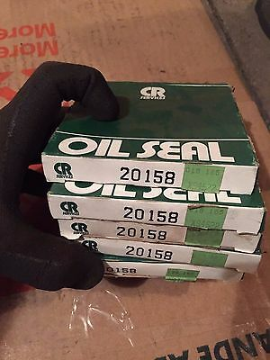 Lot Of 5 CR Oil Seal Seals 20158 New in Box