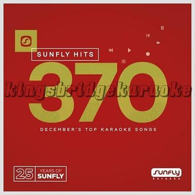 Sunfly Karaoke Hits 370 CDG 18 Chart Tracks Dec 2016 SF370 CD+G Disc Pop Hits