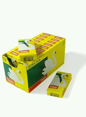 120 Tips X 20 Boxes Swan Extra Slim Cigarette Filter Tips