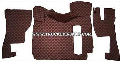 Volvo Fh Version 3 Floor Set Leatherette In Maroon[Truck Parts & Accessories]