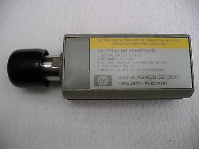 HP / Agilent / Keysight / Power Sensor 8481A / 0,01 - 18 GHz / -30 bis+20 dBm