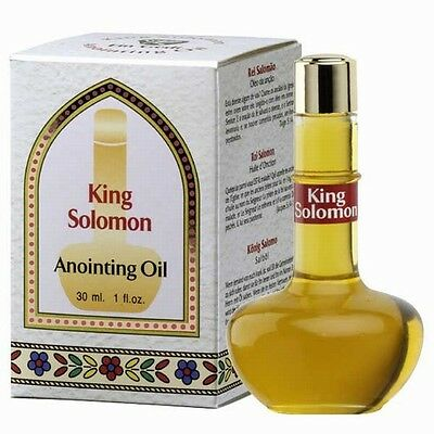 Anointing Oil 30ml King Solomon from Israel. FREE DELIVERY