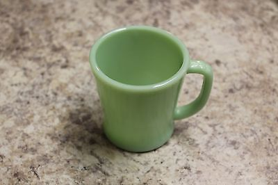 Fire King ' D Handle Cup', Really Nice Condition, Jade-Ite Color