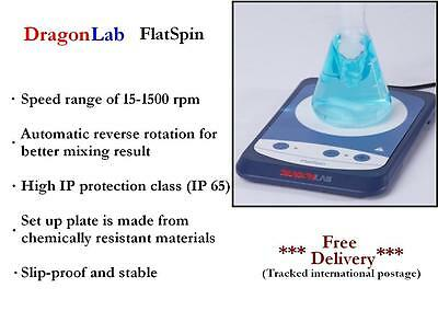 DragonLAB FlatSpin Magnetic Stirrer      mixer, laboratory instrument, shaker