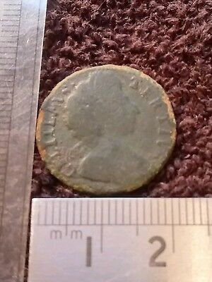 William iii 1698 Farthing Good Condition and detail