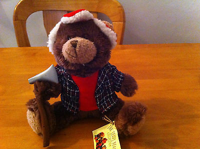"""The Teddy Bear Collection """"louis The Lumberjack"""""""