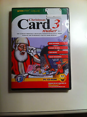 Christmas Card Maker 3 - Pc Cd-Rom