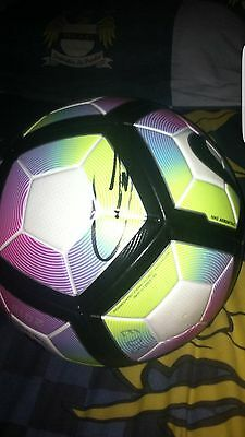 Offical Match Ball Hand Signed By Kevin De Bruyne Manchester City