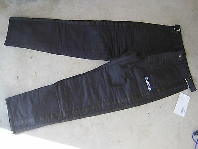 Sparco Pro Driving Jade Pants SFI 3-2A/5 size Large Black dragster Nomex