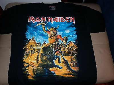 Iron Maiden Nordic Event 2014 T Shirt L
