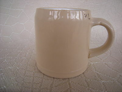 Vintage Villeroy and Boch 1/4 Litre Stein Made in Germany