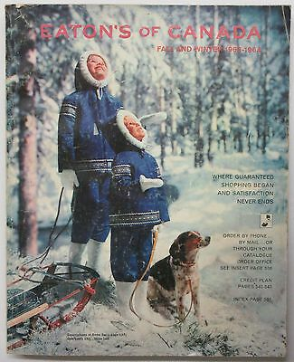 1963-1964 Eaton's of Canada Fall and Winter Catalog