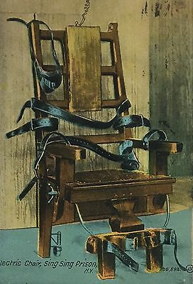 Ossining NY ~Electric Chair Sing Sing Prison  Westchester County~Social History