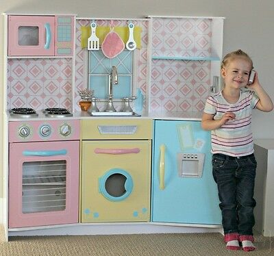 NEW Easy To Clean Sweet Treats Girly Kitchen Toy In  Pastel Colors By KidKraft