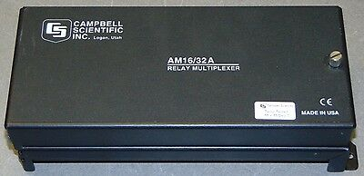 NEW Campbell Scientific AM16/32A Multiplexer w/ Extended Temp Quantity Available