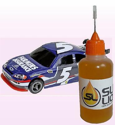 Slick Liquid Lube, ABSOLUTE BEST 100% Synthetic HO Slot Car Oil Lube Bearings