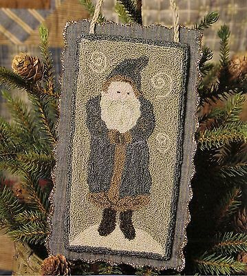 "Punchneedle Pattern by Need'l Love  ""Chalkware Santa"""