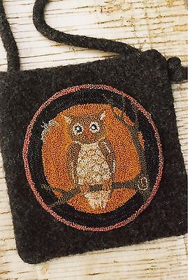 "Punchneedle Pattern by Buttermilk Basin  ""Olde Owl"""