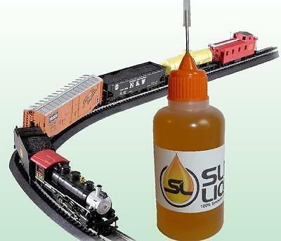 Slick Liquid Lube Bearings Plastic Safe Synthetic Oil For Bachmann Or Any Model